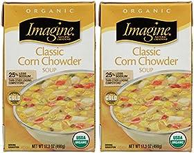 Imagine Organic Classic Corn Chowder-173 Oz-2 Pack