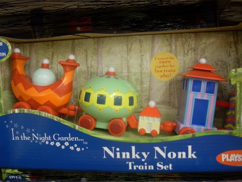 In the night garden, Ninky Nonk push along mini train set