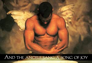 Sexy Muscular Angel - Boxed Holiday Christmas Greeting Cards - Set of 10 Cards and Envelopes
