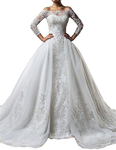 brlmall-womens-trumpet-brush-train-luxury-embroidery-wedding-dress-detachable-train
