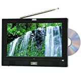 "August DA110BD 11"" Freeview/Analogue LCD TV & DVD/Video/Music/Photo Player"