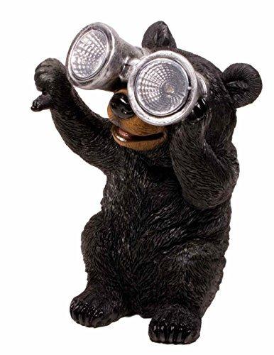 Garden Critter Solar Light - Bear (Bear Fountain compare prices)