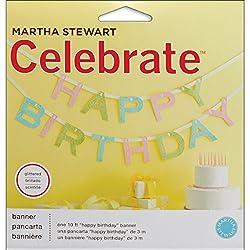 Martha Stewart Crafts Happy Birthday Banner