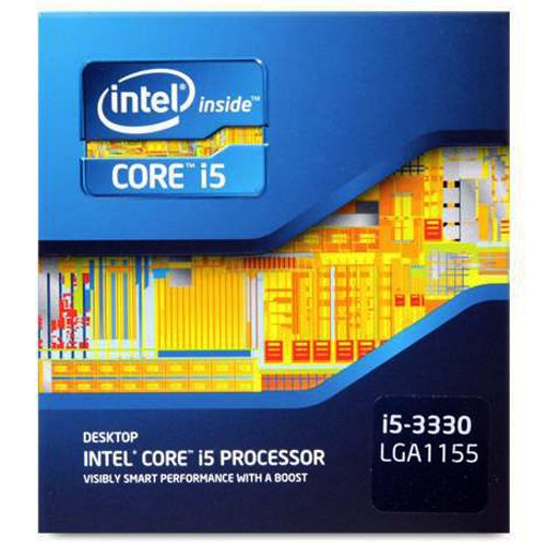 Intel Gist i5-3330 Quad-Core Processor 3.0 Ghz 6 MB Hole LGA 1155 - BX80637i53330