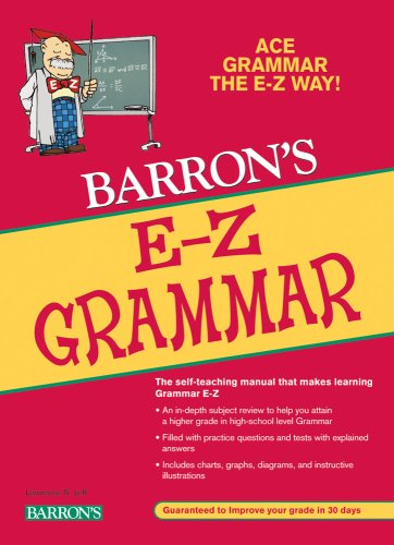 Barron'S E-Z Grammar (Grammar The Easy Way)