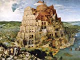 Clementoni Museum - Tower of Babel 1000 Piece Puzzle