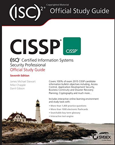 CISSP (ISC)2 Certified Information Systems Security Professional Official Study Guide PDF