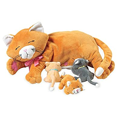 Manhattan Toy Nursing Nina Cat Nurturing Soft Toy from Manhattan Toy