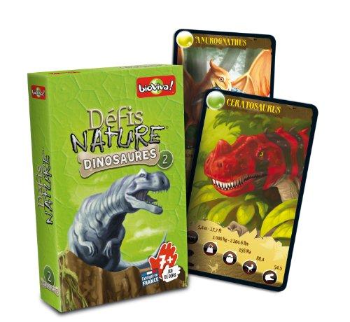 Asmodee - Dino Challenge, juego educativo, caja de color verde (DIN01)