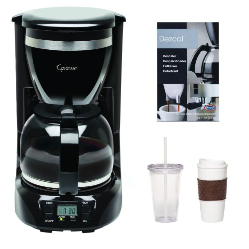 Capresso 42401 12-Cup Drip Coffee Maker + 2-Pack