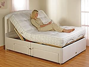 Eleanor Electric Adjustable Bed with Luxury Pocket Sprung/Memory Foam Mattress