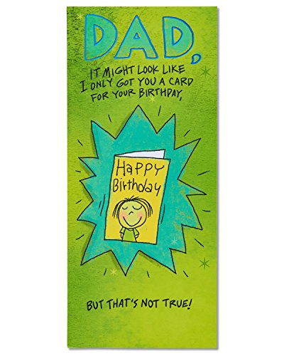 American Greetings Funny Birthday Card for Dad with Foil