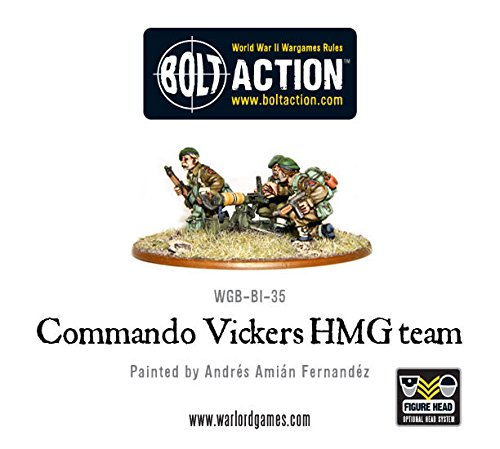 Commando Vickers Hmg Team Miniatures