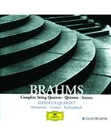 Brahms: Complete String Quartets, Quintets & Sextets (5 CDs)
