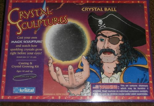 Crystal Sculptures Crystal Ball Casting & Crystal Growing Kit