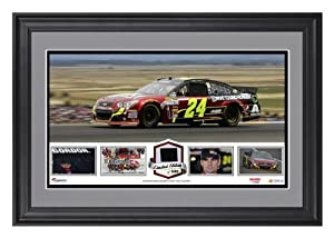 Jeff Gordon Framed Panoramic with Race-Used Tire - Limited Edition of 500 - -... by Sports Memorabilia