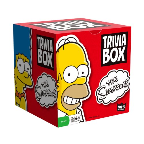 Trivia Box - The Simpsons - 1