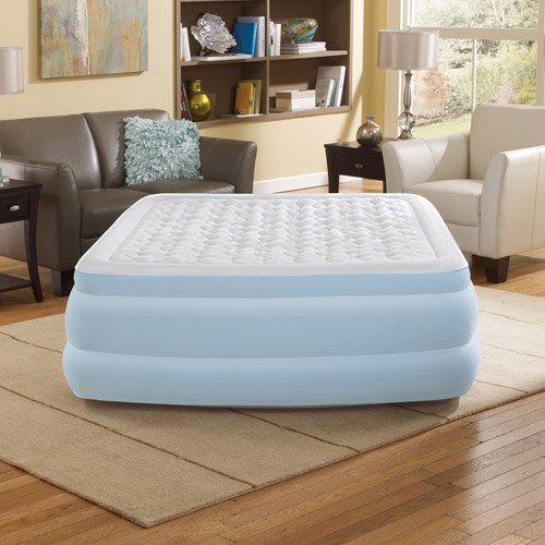 "Simmons Beautyrest Contour Aire 18"" Queen Air Bed Mattress"