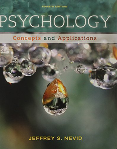 Psychology: Concepts and Applications, by Jeffrey S. Nevid