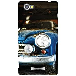 Sony Xperia M Back Cover - Headlights Designer Cases
