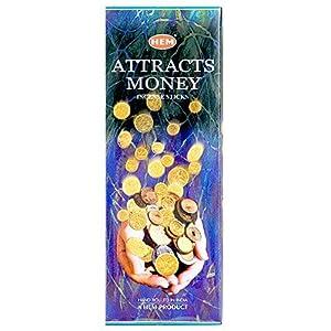 Attracts Money Incense Hem Sticks