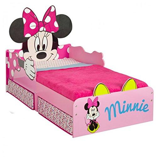 Disney Minnie Mouse 140×70 cm Kinderbett Bett Kinderzimmer Möbel Schlafen Jugendbett Babybett Mädchen
