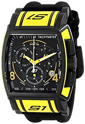 Invicta Men's 12786 S1 Rally Analog Display Swiss Quartz Black Watch