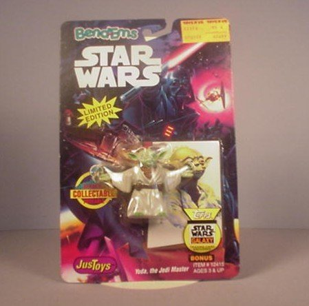 STAR WARS BEND-EMS YODA ACTION FIGURE
