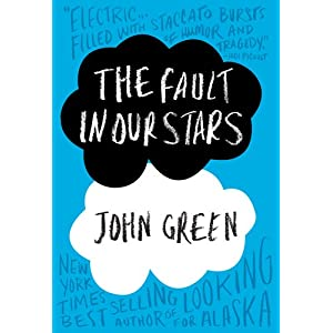 The Fault in Our Stars by John Green Hardcover Book