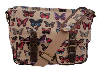 Butterfly Satchel By Lydc Anna Smith Messenger Kids School Bag Ladies Handbag