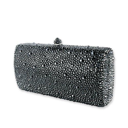 Majestic Swarovski Crystal Clutch Bag