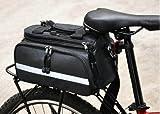 自転車用荷台取り付け多機能 ...