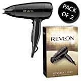 2x Revlon 9142CU 2000W Power Dry Hair Dryer