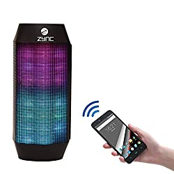K20 Fuzon Bluetooth Speaker with LED lights and Power Bank