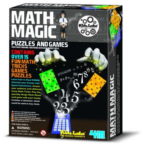4M Math Magic Puzzles and Games - 1