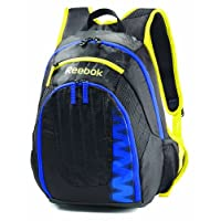 Reebok Z Series Large Backpack, Black/Vital Blue/Sun Rock, One Size