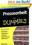 Pressearbeit f�r Dummies (Fur Dummies)