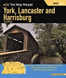 img - for ADC The Map People York, Lancaster and Harrisburg Pennsylvania book / textbook / text book