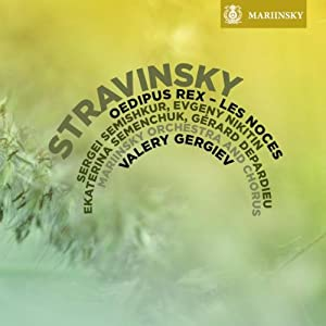 Stravinsky Oedipus Rex Les Noces Mariinsky Soloists Orchestra And Chorus Valery Gergiev Hybr from Mariinsky