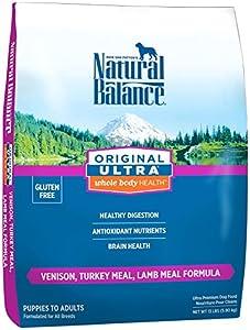 Natural Balance Original Ultra Whole Body Health - Venison, Turkey Meal & Lamb Meal - 13 lb