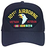 101st Airborne Vietnam Veteran with Ribbons Ball Cap