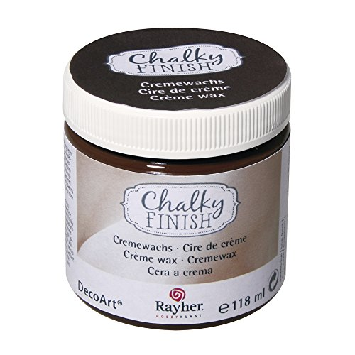 rayher-38870552-chalky-finish-cremewachs-dose-118-ml-dunkelbraun