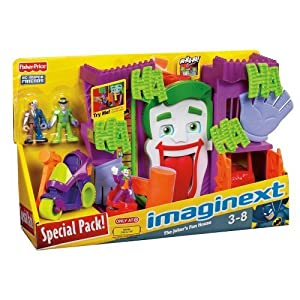 Amazon.com: Imaginext DC Super Friends Exclusive Playset Jokers Fun