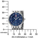 Swiss Military Hanowa Women's 06-7087-04-003 Rendezvous 316L Stainless Steel Blue Dial Watch