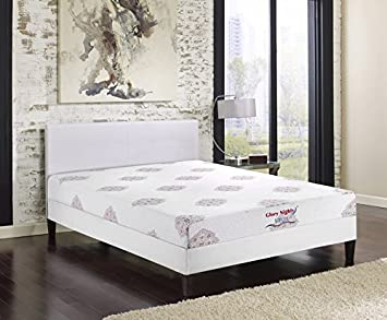 Glory Furniture GN2110-F Vega Mattress, Full, White