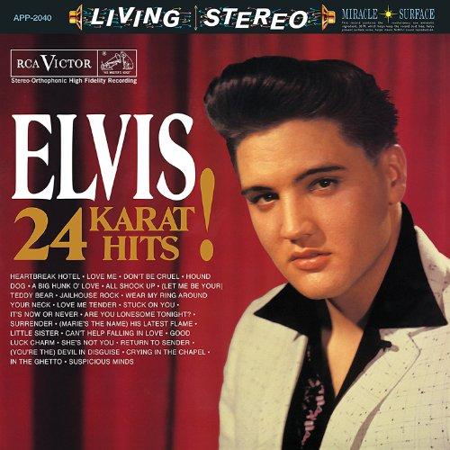 Elvis Presley - 24 Karat Hits! - Zortam Music