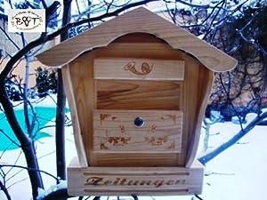 btv batovi hbk sd natur cassetta delle lettere in legno. Black Bedroom Furniture Sets. Home Design Ideas