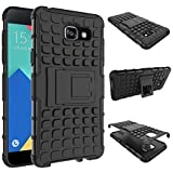 SeCro™ Flip Kick Stand Spider Hard Dual Rugged Armor Hybrid Bumper Back Case Cover For Samsung Galaxy J7 Prime...