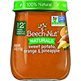 Beech-Nut Stage 2 Baby Food, Sweet Potato/Orange/Pineapple, 4 Ounce (Pack Of 10)