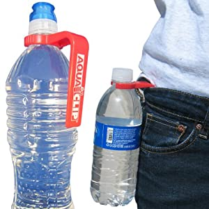 Water Bottle Holder by Aqua Clip (2 PACK) - Water Bottle